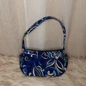 "Vera Bradley "" Mediterranean Blue"" Small Bag"